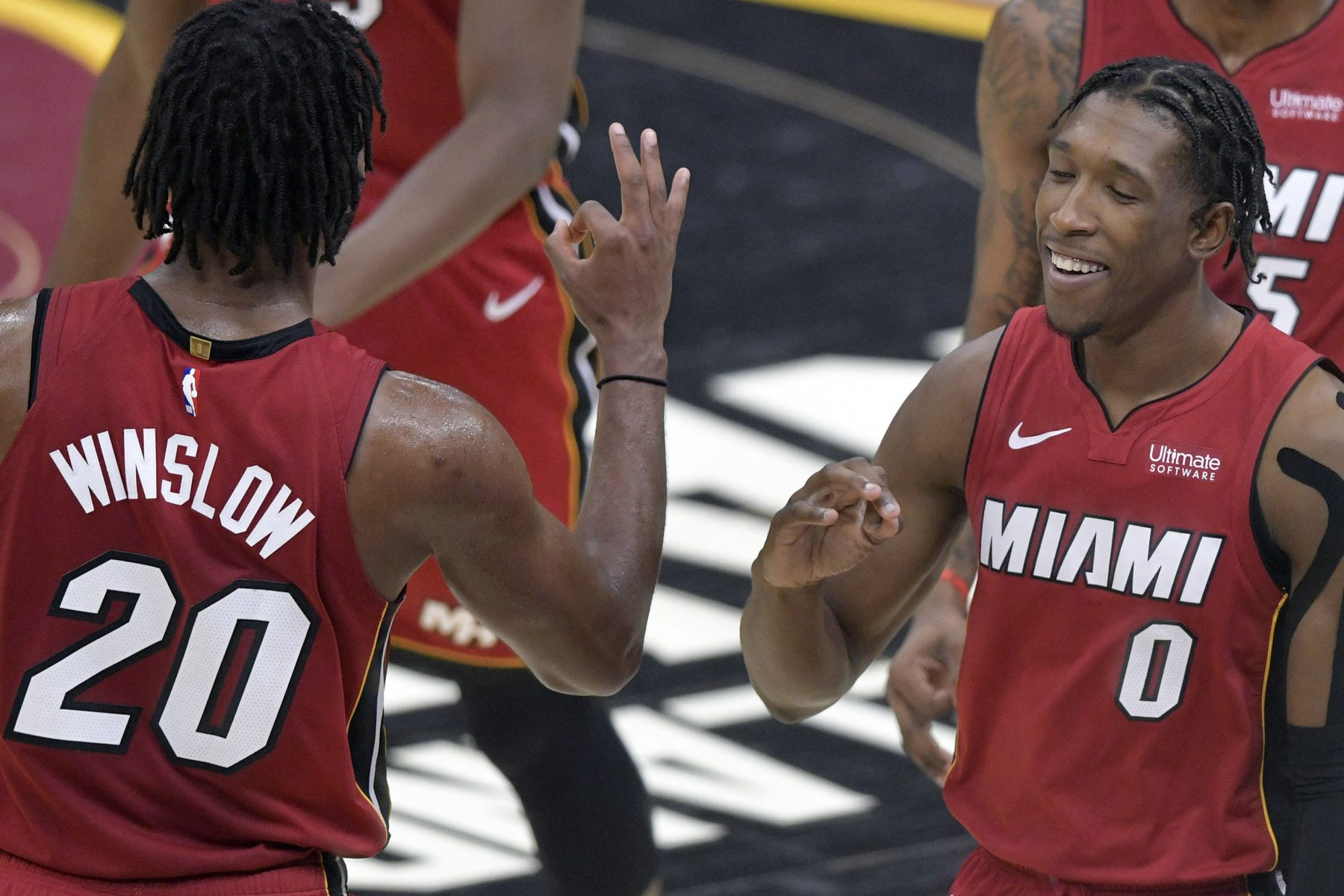Justise Winslow and Josh Richardson Miami Heat