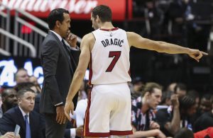 Erik Spoelstra Miami Heat Goran Dragic