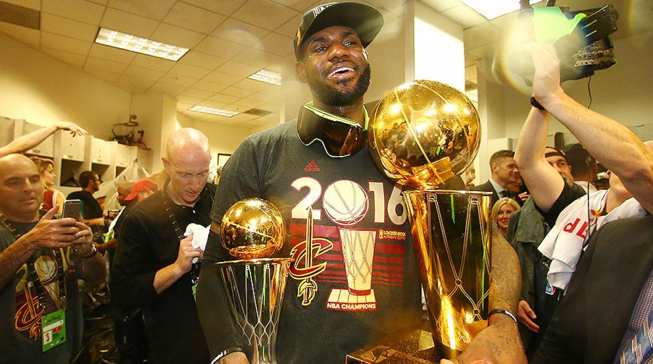LeBron James NBA Championship Cavs