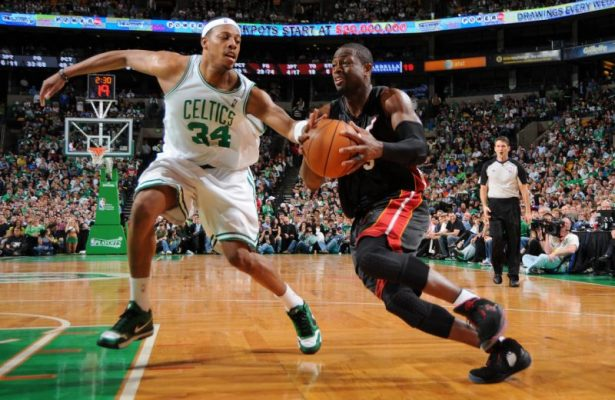 Paul Pierce and Dwyane Wade