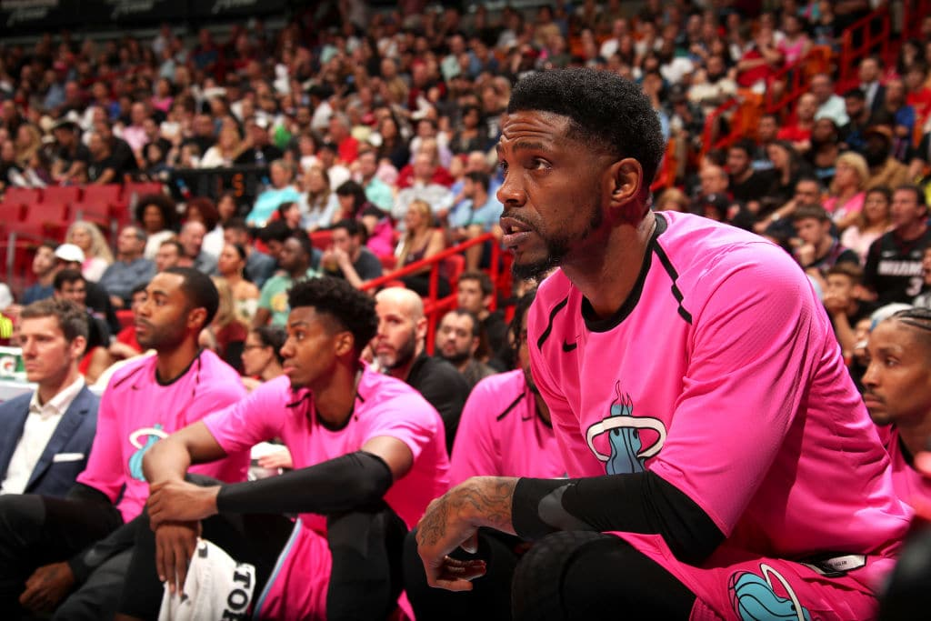 The Miami Heat officially re-signed Udonis Haslem