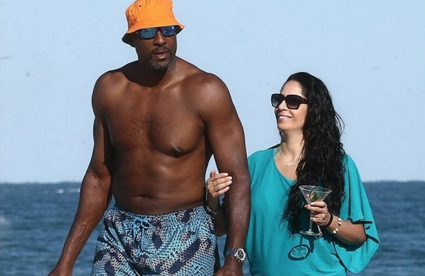 Alonzo Mourning and New Girlfriend