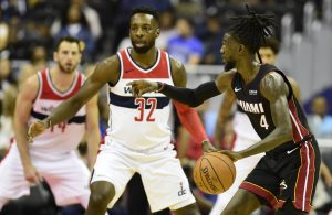 Miami Heat Washington Wizards Briante Weber Jeff Green