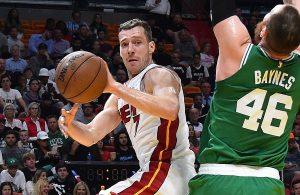 Miami Heat Boston Celtics Goran Dragic Aron Baynes