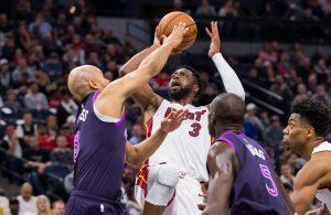 Dwyane Wade Miami Heat Minnesota Timberwolves