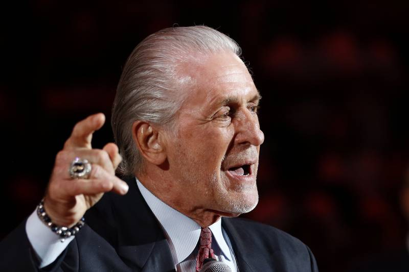 Report: Jeanie Buss 'Hell Bent' on Bringing Pat Riley to Los Angeles Lakers