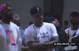 LeBron James, Carmelo Anthony, and Dwyane Wade
