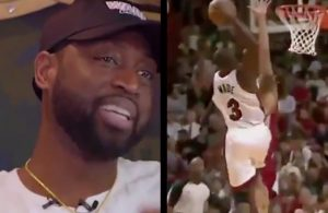 Dwyane Wade's Reaction to Dunk on Anderson Varejao