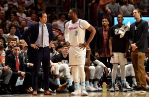 Erik Spoelstra and Dwyane Wade