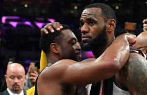 Miami Heat Los Angeles Lakers LeBron James Dwyane Wade