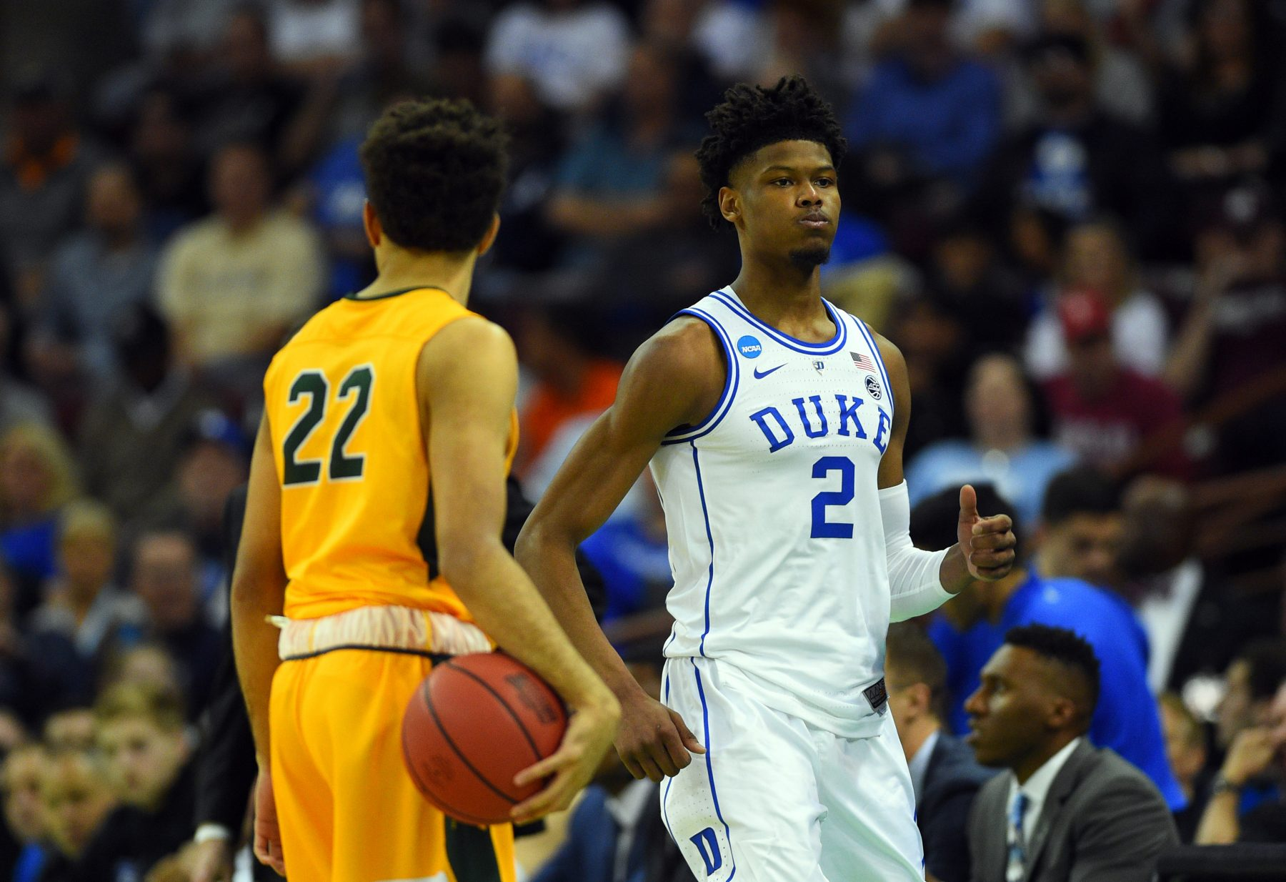 Duke University North Dakota State University Cam Reddish Cameron Hunter