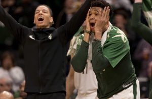 Milwaukee Bucks and Boston Celtics