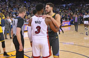 Dwyane Wade and Klay Thompson