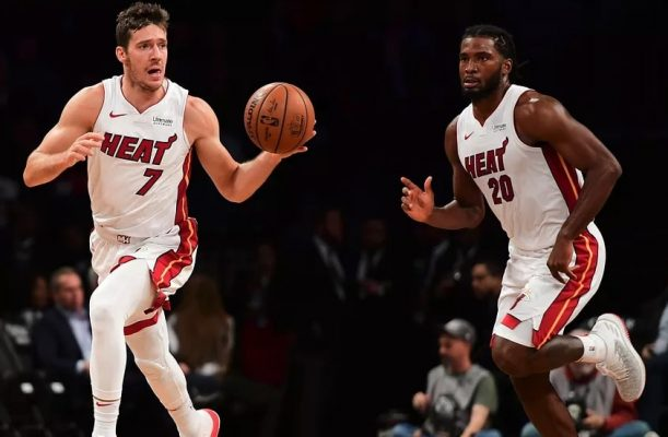 Goran Dragic and Justise Winslow