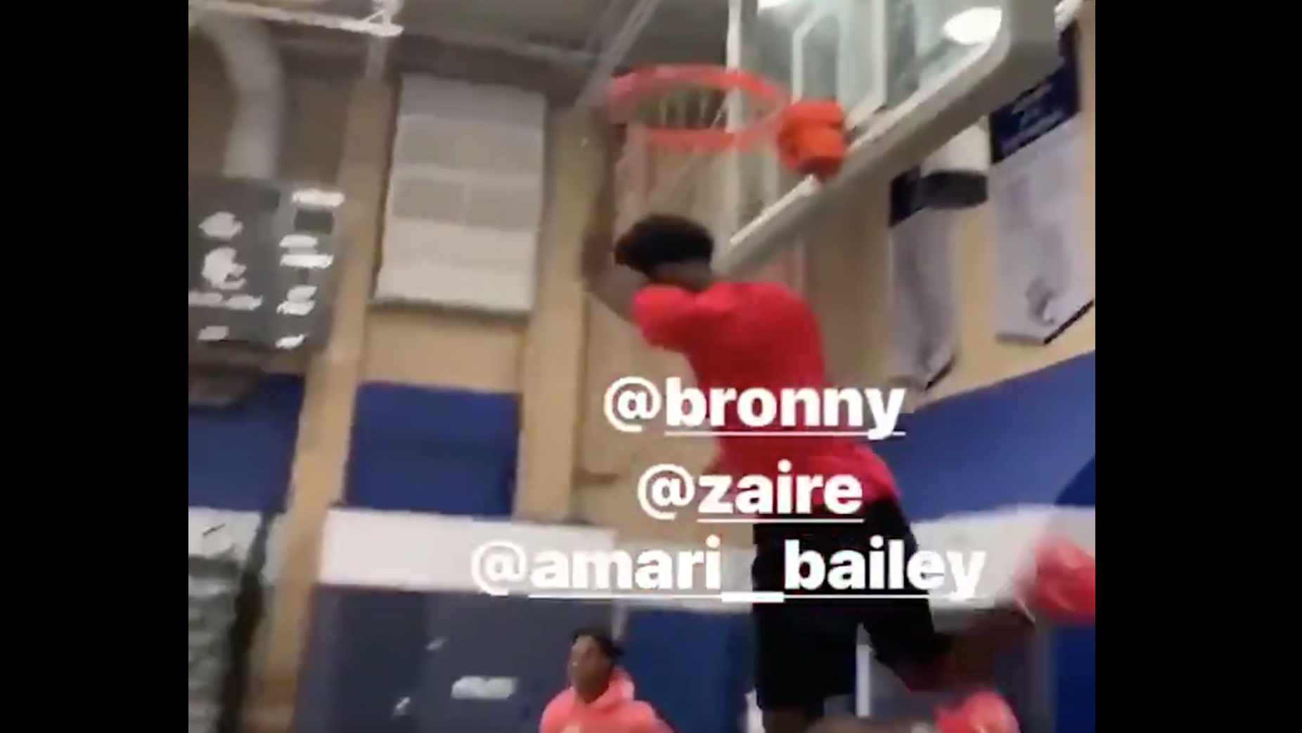 Bronny and Zaire Wade