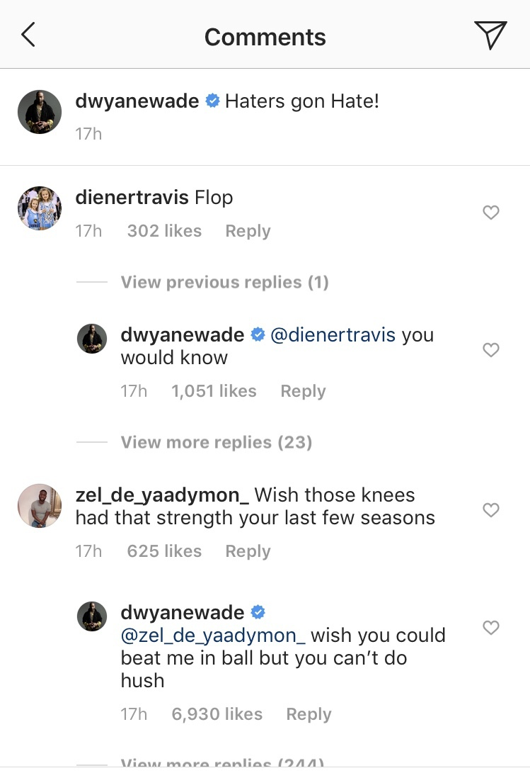 Dwyane Wade Absolutely Destroys Trolls on Social Media