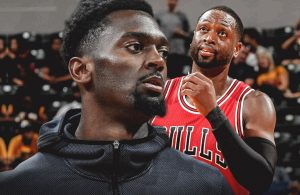 Bobby Portis and Dwyane Wade