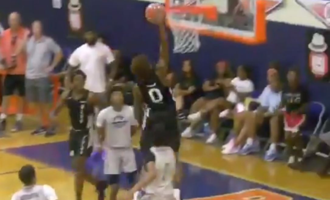 LeBron James Jr. Dunk