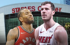 Kawhi Leonard and Goran Dragic