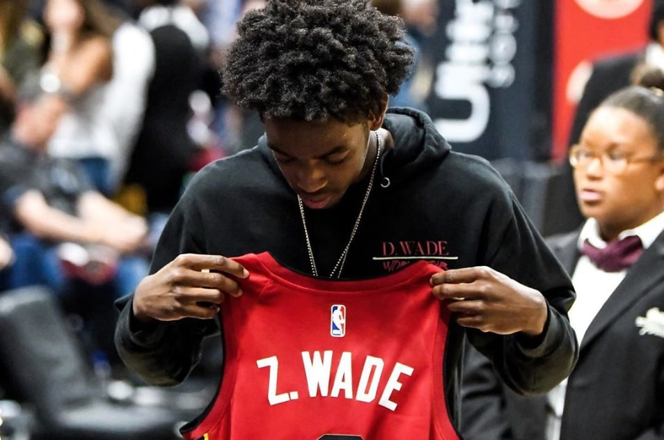 Dwyane Wade and Bradley Beal Can't Believe Zaire Wade's New High School Roster