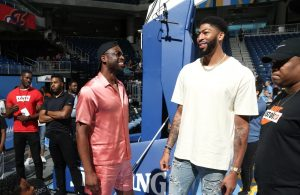Dwyane Wade and Anthony Davis