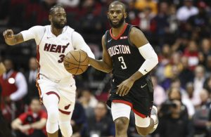 Chris Paul and Dwyane Wade