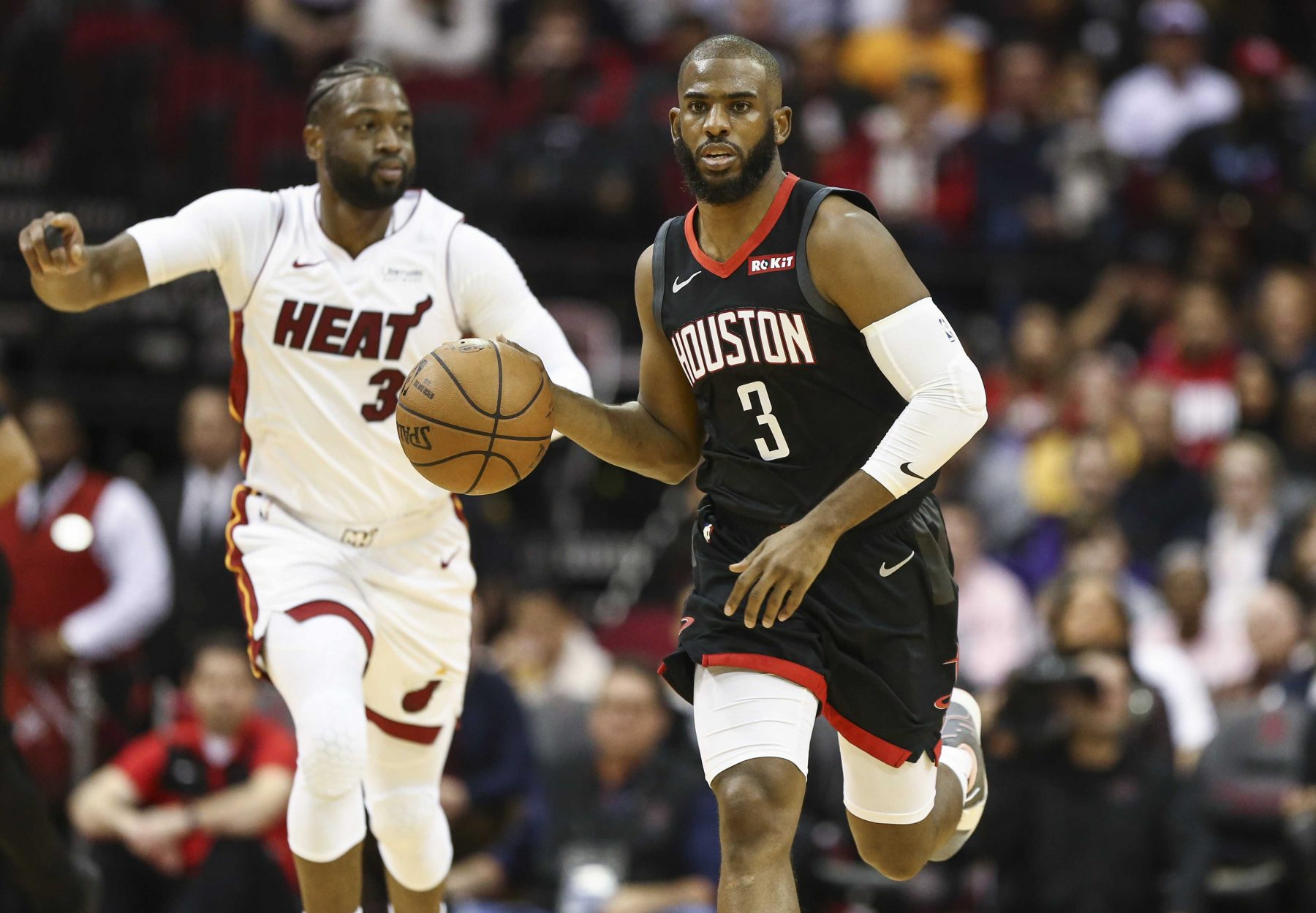Chris Paul trade rumors: Heat not 'actively pursuing' deal for Thunder guard