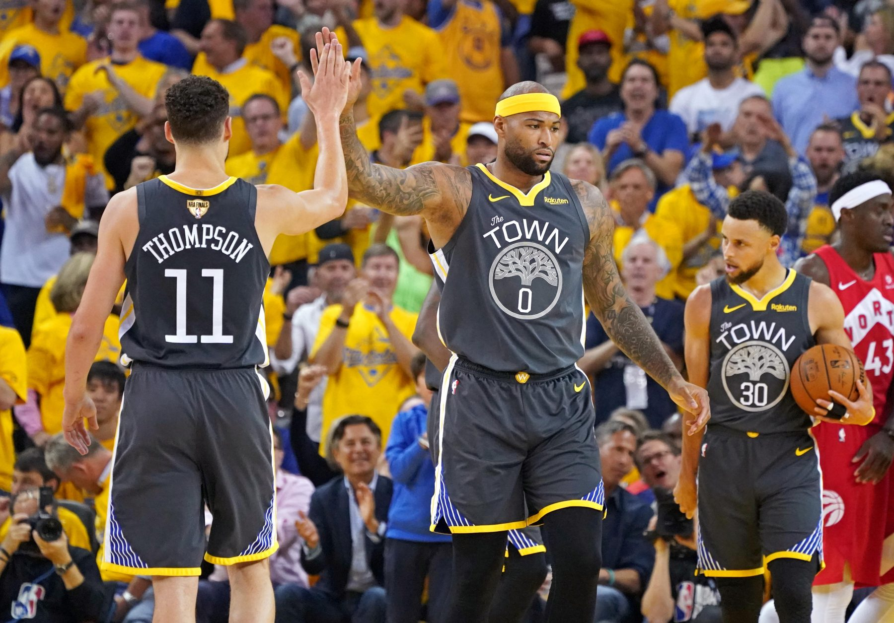 DeMarcus Cousins Warriors
