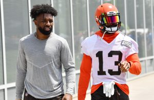 Jarvis Landry and Odell Beckham Jr.