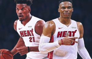Jimmy Butler and Russell Westbrook