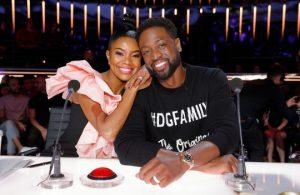 Gabrielle Union and Dwyane Wade America's Got Talent