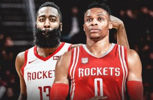 James Harden and Russell Westbrook Houston Rockets