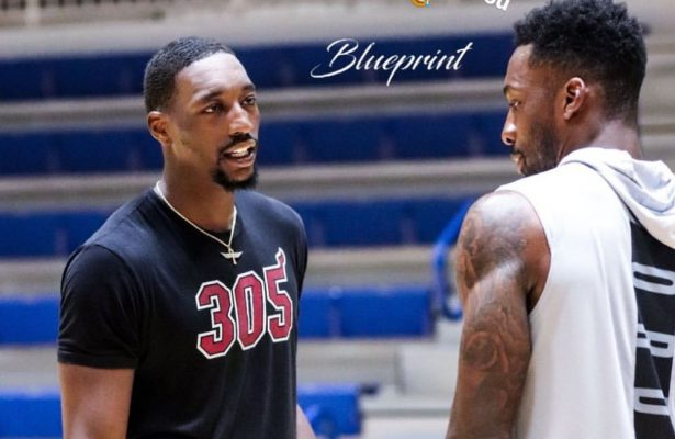 Bam Adebayo Clowns Jeff Green After Training With Him
