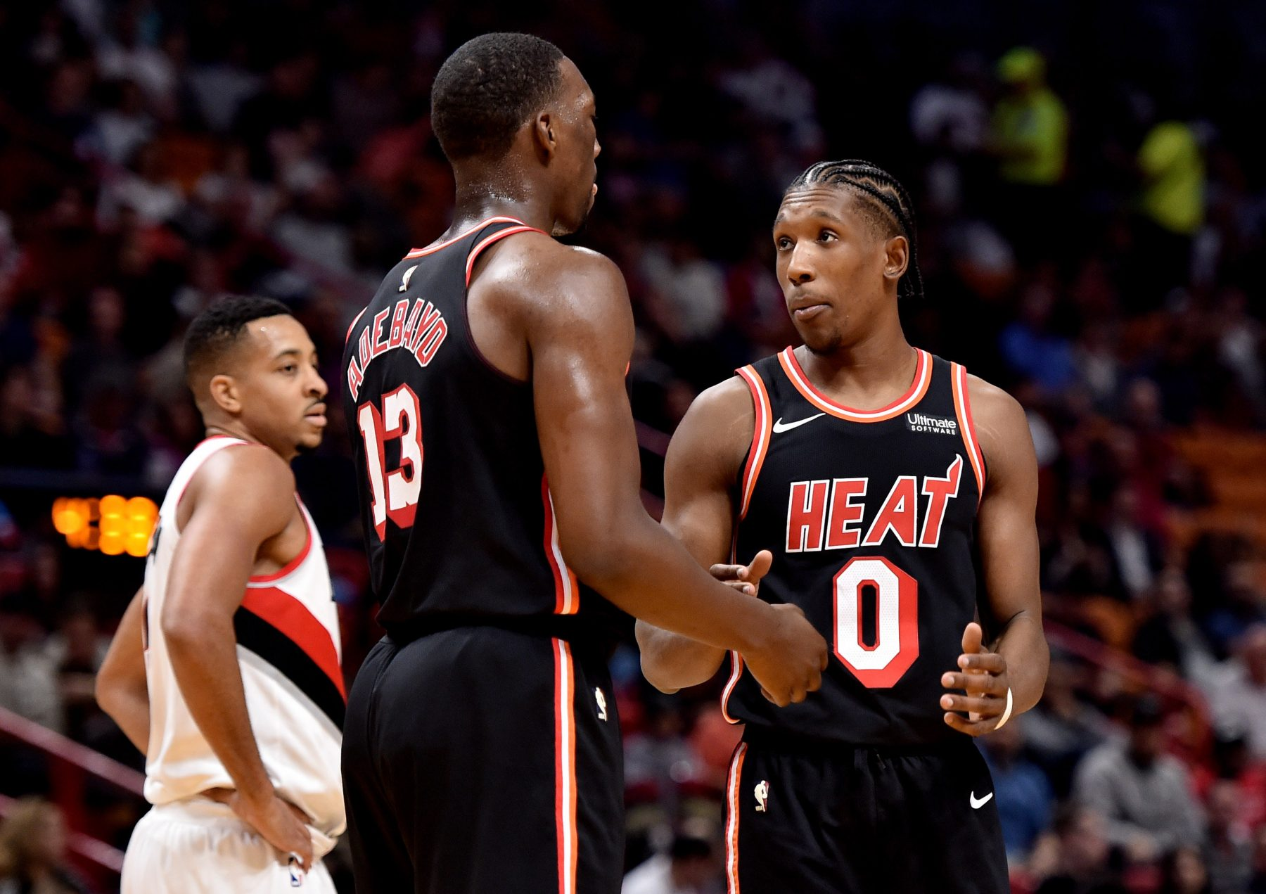 Josh Richardson and Bam Adebayo