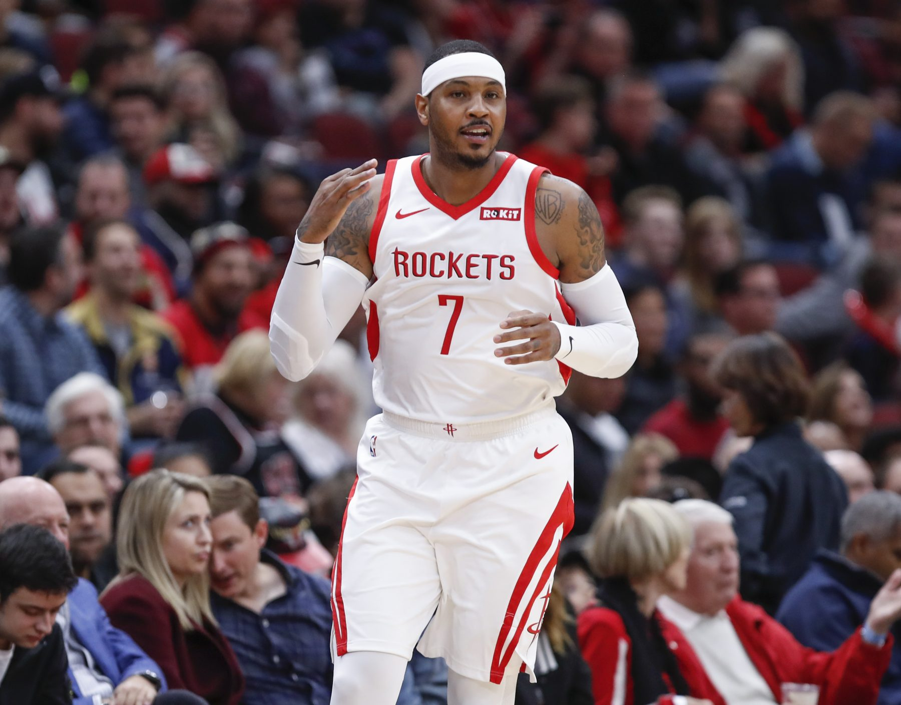 Report: Houston Rockets Source Says Carmelo Anthony Would've Been Better Off in Miami