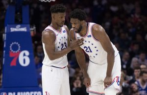 Jimmy Butler and Joel Embiid