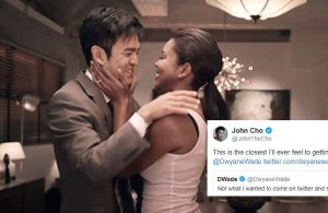 John Cho and Gabrielle Union