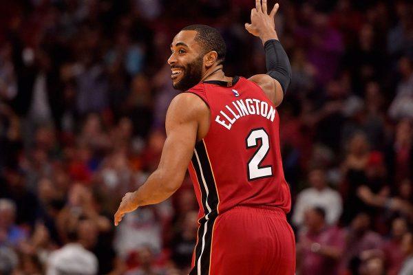 online store 4383f e945a Wayne Ellington Explains How Putting on Miami Heat Jersey ...