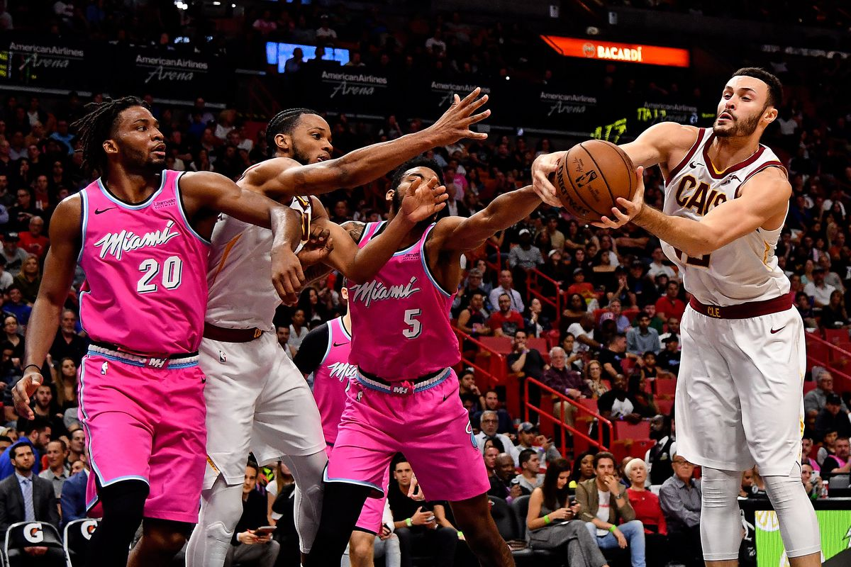 Miami Heat and Cleveland Cavaliers