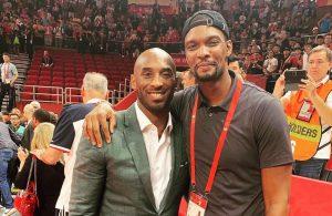 Chris Bosh and Kobe Bryant