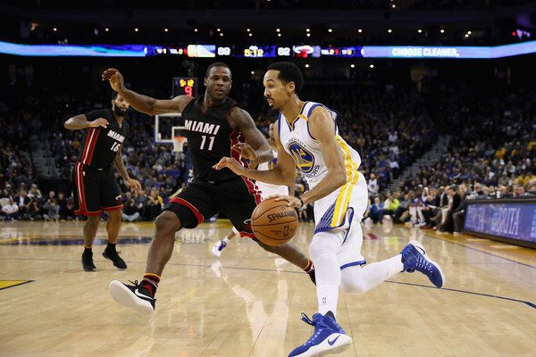 Dion Waiters and Shaun Livingston