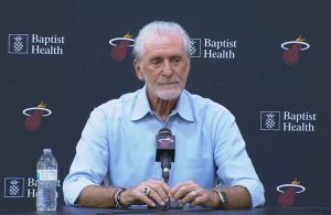 Pat Riley Media Day