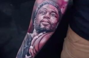 Dwyane Wade Fan Tattoo