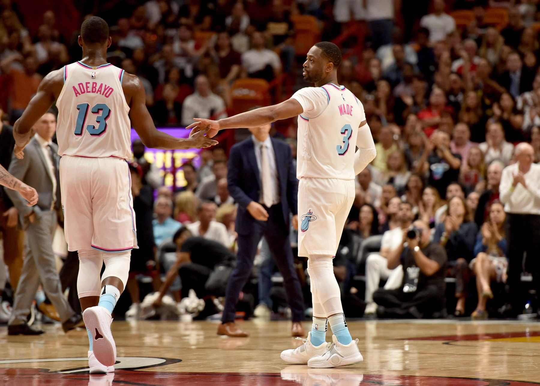 Bam Adebayo Promotes Bringing Dwyane Wade Out of Retirement