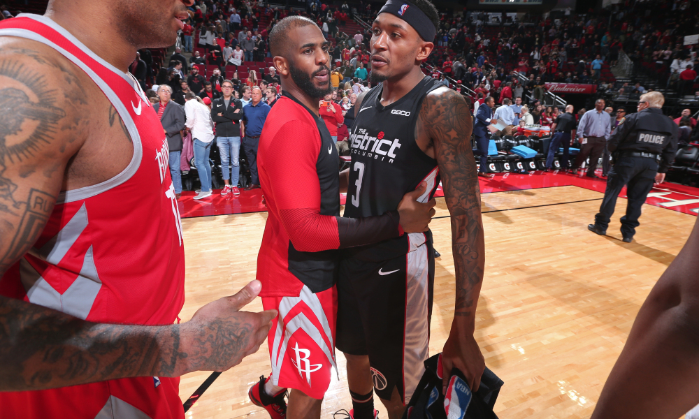Chris Paul and Bradley Beal