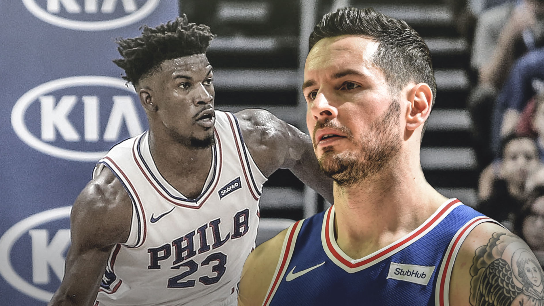 Jimmy Butler and J.J. Redick