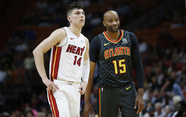 Vince Carter and Tyler Herro