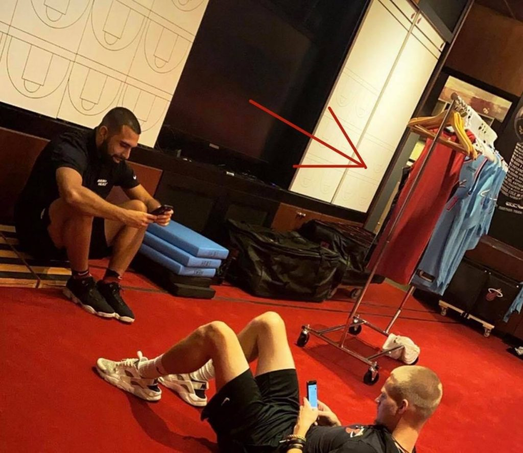 Tyler Herro Leaks New Miami Heat Vice Jerseys Via Social Media Heat Nation