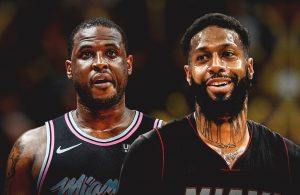 Dion Waiters and James Johnson