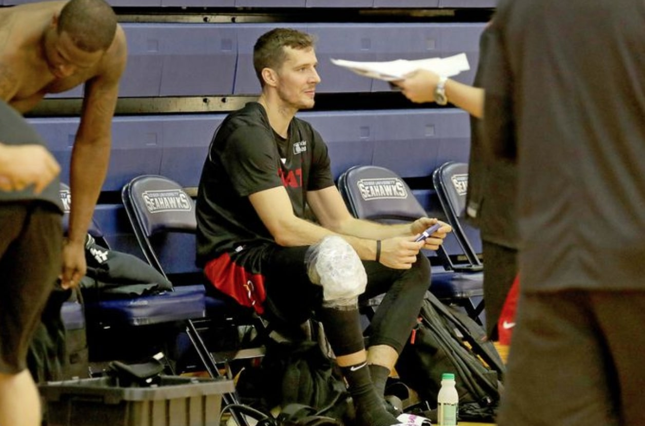 Goran Dragic Miami Heat Practice